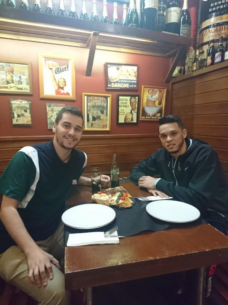 Carlos w Eddy Polanco