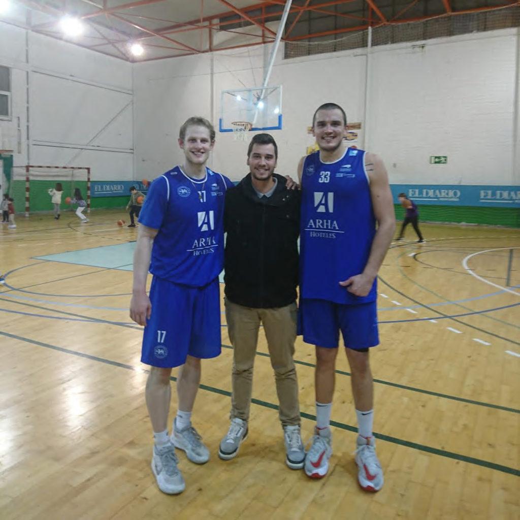 Carlos w Sam Bittner Petar Radojicic